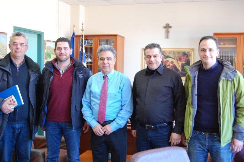 Συνάντηση Κάρμαντζη με αντιπροσωπεία του Τεχνικού Επιμελητηρίου Ελλάδος