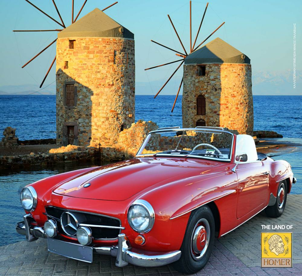 Δεκάδες ονειρεμένα αυτοκίνητα στους δρόμους της Χίου