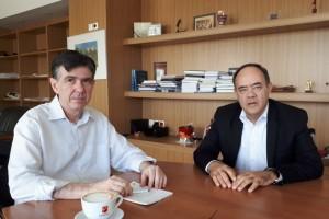 Εκπαιδευτικά θέματα της Χίου στην συνάντηση Μπαξεβανάκη-Μιχαηλίδη